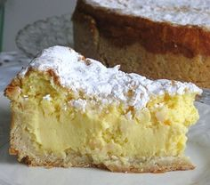 This Polish Coconut Cheesecake recipe or sernik kokosowy is made with a dry curd cheese, known as twar