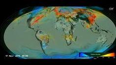 Yhdysvaltain avaruushallinto Nasa on julkaissut uuden videon kasvihuoneilmiötä kiihdyttävän hiilidioksidin liikkumisesta Maan ilmakehässä.