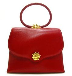 Hermes ~ Red Ilio Sunset Evening Bag. We can all dream.