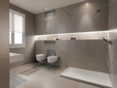 Bad Modern Gestalten Mit Licht_modernes Badezimmer Mit Eingebauten ... Bad Beleuchtung Modern