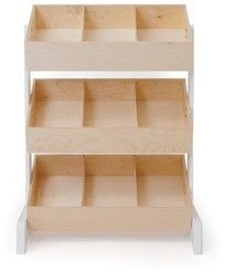 The Oeuf Toy Store is an innovative storage system with three tiers of storage bins, ideal for books and toys. Bins ins are so easy to access. Playroom Furniture, Playroom Decor, Baby Room Decor, Playroom Table, Furniture Nyc, Playroom Ideas, Cheap Furniture, Basement Ideas, Wooden Furniture