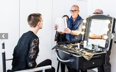 BEAUTY ARTISTS. Valter Gazzano national Makeup Artist YSL Italy and Adamis…