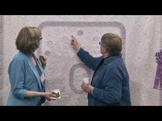 Susan Stewart - Best Home Machine Quilt Award - 2015 AQS QuiltWeek® Albuquerque - YouTube