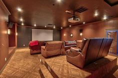 A laid back and comfortable home theater. Los Ranchos De Abq, NM Coldwell Banker Legacy