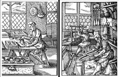 Jost Amman, woodcuts for Standebuch (Book of trades) 1568 CE