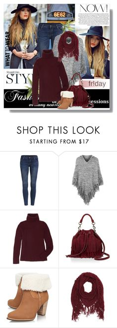 """What to Wear: Black Friday Shopping"" by sharoncrotty ❤ liked on Polyvore featuring Topshop, Jura, The Row, Rebecca Minkoff, UGG Australia, Charlotte Russe and shoptilyoudrop"
