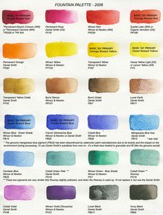 Choosing a Palette of Colors by getting - Watercolor lesson- Choosing,a,Palette,of,Colors,getting,Free Tutorials Network.shijieminghua.com