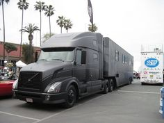 Black and grey Volvo- San Diego Good Guys Car show
