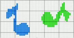 Gallery.ru / Фото #12 - разное - irisha-ira Cross Stitch Music, Cross Stitch Boarders, Stitch Patterns, Crochet Patterns, C2c, Maya, Crafts For Kids, Knitting, Alice