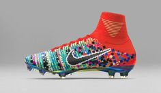 e30f476f6c Nike s Mercurial Superfly x EA Sports Football Cleats are a Pixilated Dream  soccer field sport FIFA