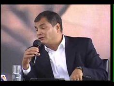 VÍDEO: El Presidente de Ecuador defiende a Israel. Les presentamos una presentación admirable del actual Presidente de la República de Ecuador, Rafael Correa, en la que expone el éxito de Israel. Sin duda, es una de las declaraciones más valientes realizadas por un político en activo en todo América Latina.