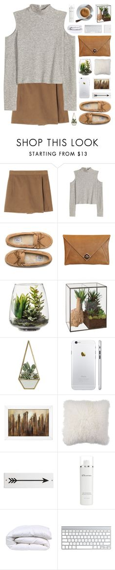 """""""Coffee, please!"""" by novalikarida ❤ liked on Polyvore featuring G.H. Bass & Co., The Code, Threshold, Dot & Bo, Rosanna, Elemis, women's clothing, women's fashion, women and female"""
