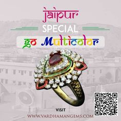 Let color of gems beautify your persona. Wear vardhaman gems. www.vardhamangems.com