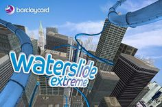 Waterslide Extreme App by Dare Digital Ltd. #waterslideextreme #daredigital #itunes #freeappsking #ipad #iphone #itouch #games #watersports #kids #games #apps #app