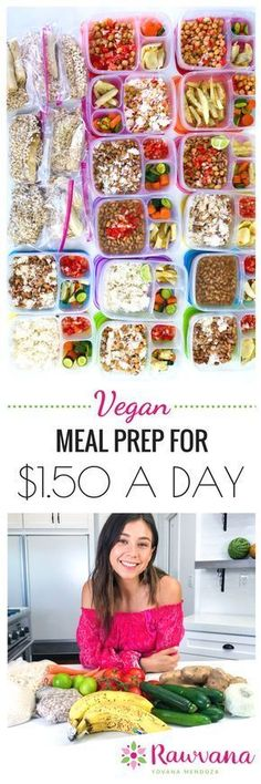 Ill show you exactly how I eat three vegan meals a day for around 150 including a complete shopping list with prices Ready Lets do this Vegetarian Meal Prep, Vegan Meal Plans, Vegetarian Recipes Easy, Healthy Meal Prep, Vegan Vegetarian, Healthy Recipes, Vegan Foods, Vegan Dishes, Vegan Meals