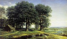 The Glory of Russian Painting: Mikhail Klodt Oak wood