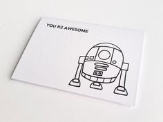 Check out this item in my Etsy shop https://www.etsy.com/listing/505802231/r2d2-valentines-day-card-star-wars