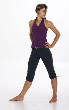 organic capri yoga pants - LiveBreatheYoga.com