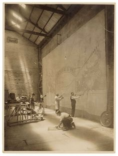 Painting backdrop, Sydney, ca. / by Sam Hood Classic Films, Land Scape, Romania, Old Photos, 1930s, Sydney, Backdrops, History, Prints