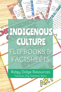 This activity bundle, great for inclusion in NAIDOC week and Reconciliation Week activities, is jam-packed with quality resources that will support you in teaching your students about Australian Aboriginal and Torres Strait Islander history and culture without having to leave your classroom! The Flipbook, worksheets and fact sheets provided will assist your students in exploring this topic while keeping them engaged and reflective upon the impact of European settlement. Naidoc Week Activities, Fun Activities, Indigenous Education, History Education, Australian Curriculum, Teacher Pay Teachers, Geography, Homeschooling, Exploring