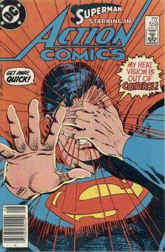 Superman - Heat Vision - Get Away - Cover Eyes - Ray - Eduardo Barreto