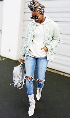 See the skinny-jean outfits created by our stylish readers, in addition to shopping our favorite skinny jeans of the moment.