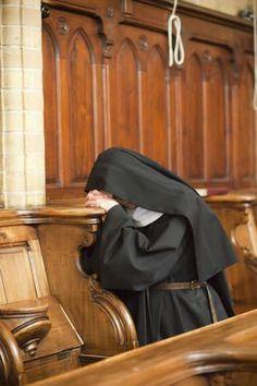 Pray without ceasing. Catholic Art, Roman Catholic, Nuns Habits, Just Pray, Bride Of Christ, Les Religions, Kirchen, Atheist, Faith