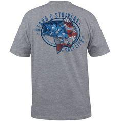 Salt Life™ Men's Stars and Stripers Short Sleeve T-shirt