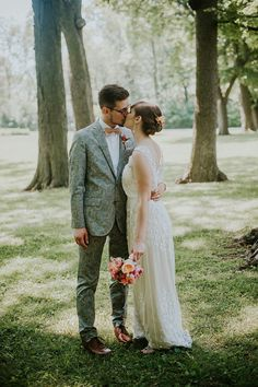 Vintage Inspired Bride & Groom // Photography ~ Anna Page Photography
