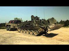 "British Army ""Terrier"" Tank-Bulldozer Hybrid by BAE Systems"
