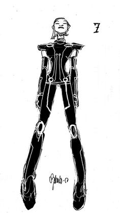 Tron Uprising by Chris Bachalo ★ || CHARACTER DESIGN REFERENCES (www.facebook.com/CharacterDesignReferences & pinterest.com/characterdesigh) • Love Character Design? Join the Character Design Challenge (link→ www.facebook.com/groups/CharacterDesignChallenge) Share your unique vision of a theme every month, promote your art and make new friends in a community of over 20.000 artists! || ★