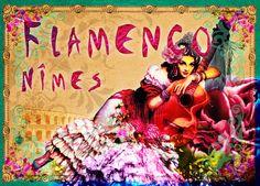 Affiche Flamenco Nîmes