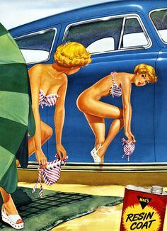 Mac's car wax c. 1956