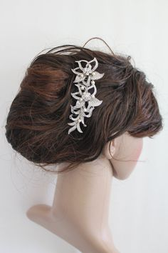 This is my favourite hair comb so far I think...Crystal Wedding Hair CombBridal crystal hair by Angelbridalshop, $55.00