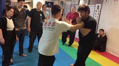 This is a clip of a practice for Student Level Rich Kelly (in black) is helping Espen Andreassen (in white) with his practice. Yang Energy, Yin Yang, Martial Arts, Physics, Student, In This Moment, Physics Humor, Martial Art, Combat Sport