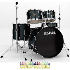 Bateria Tama Rhythm Mate 5 Piezas Color Negro