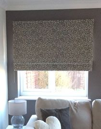 Roman Blind made using Sew-Helpful's How to make a Roman Blind Tutorial, FREE online instructions and advice from a professional workroom, maker said - my blind turned out, as good as a custom made shop-bought one I have in another room.