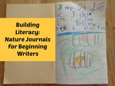Post image for Building Literacy: Nature Journals for Beginning Writers