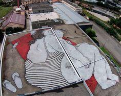 Colosales murales de Ella&Pitr