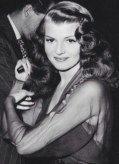 Rita Hayworth was absolutely stunning. I watch her movies in awe.