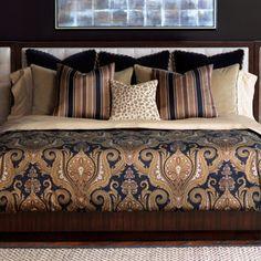bedroom decor on pinterest purple gold bedding and gold bedding. Black Bedroom Furniture Sets. Home Design Ideas