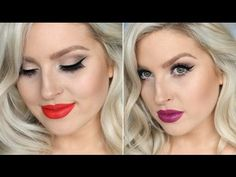 Old Hollywood Look ♡ Chi Chi Extravaganza Palette! ♡ Chit Chat GRWM! - YouTube