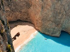 Isola di Zante: la spiaggia del relitto