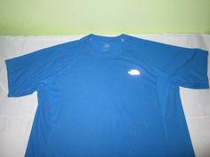 THE NORTH FACE FLIGHT SERIES Vapor Wick  T Shirt Size XL - Blue #TheNorthFace #GraphicTee