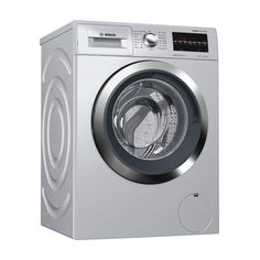 Bosch 8 Kg Fully Automatic Front Load Washing Machine price in india Silver) - India Smart Price Washing Machine Price, Washing Machines, Silver Prices, India, Washers, Goa India