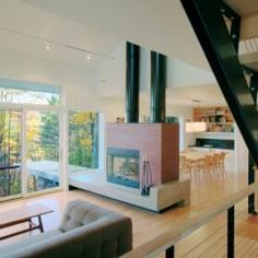 Modern but comfortable living space