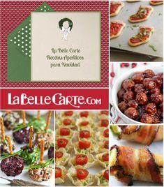 Tarjetas de navidad, invitaciones de navidad, recetas aperitivos de navidad