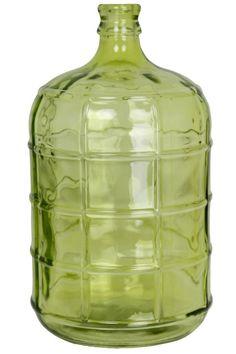 BENNETT JUG in clear, Clover Green Glass HFA11329