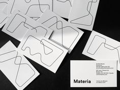 "Check out this @Behance project: ""Materia / Branding"" https://www.behance.net/gallery/45327379/Materia-Branding"