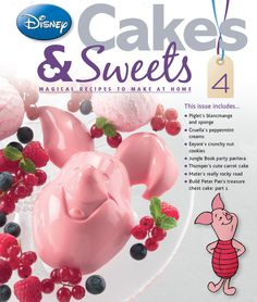 Issue four comes with an lovely Piglet mould. #disneycakesandsweets